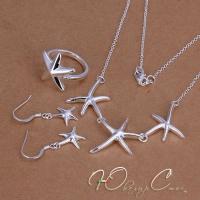 """Комплект в стиле Tiffany """"Морские звезды"""""""