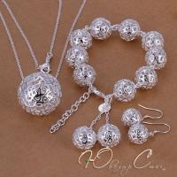 """Комплект в стиле Tiffany """"Ажурные шары"""""""