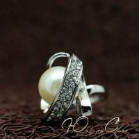 """Кольцо с жемчугом """"Amore"""" (17.3 18.2 размеры в наличии)"""