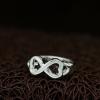 """Кольцо Бесконечность в стиле Tiffany """"Loving Hearts"""" (18.2 19.0 размеры в наличии)"""