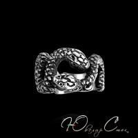 """Готическое кольцо """"Змеи искушения"""""""