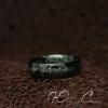 """Кольцо """"Всевластия черное из нержавеющей стали"""" (17.3 18.2 19.0 20.0 20.7 21.5 размеры в наличии)"""