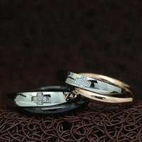 """Кольца для двоих """"Хранители Достатка"""" [жен. 18.2 муж. 19.0 20.0 размеры в наличии]"""
