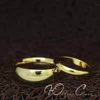 """Парные кольца """"Венчальные"""" (жен. 15.9 16.5 17.3 18.2 муж. 17.3 18.2 19.0 20.0 размеры в наличии)"""