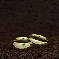 """Парные кольца """"The Lord of the Rings"""" 316L [жен. 15.9 16.5 17.3 18.2 19.0 муж. 17.3 18.2 19.0 20.0 20.7 21.5 22.3 23.8 размеры в наличии]"""