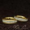 """Парные кольца """"Помолвочные"""" [жен. 15.9 16.5 17.3 18.2 муж. 17.3 18.2 19.0 20.0  размеры в наличии]"""