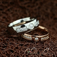 """Кольца для влюбленных """"Хранители Отношений"""" [жен. 15.9 18.2 муж 19.0 20.0 размеры в наличии]"""