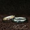 """Кольца для влюбленных """"Вместе и на век"""" [жен. 16.5 17.3 18.2 муж. 17.3 18.2 20.0 20.7 размеры в наличии]"""