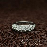"""Кольцо """"Prada"""" (16.5 размер в наличии)"""
