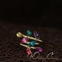 """Регулируемое кольцо """"Dorise"""" (16.5 размер в наличии)"""