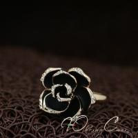 """Кольцо """"Роза матовая"""" (16.5 размер в наличии)"""