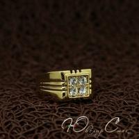 """Перстень """"Ландо нуар"""" (21.0 21.9 размеры в наличии)"""