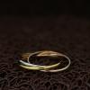 """Тройное кольцо """"Элегансе"""" (16.0 18.0 размеры в наличии)"""