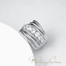 """Широкое кольцо """"Viteliya de Lutsi"""""""