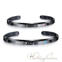 """Черные браслеты для влюбленных """"Хранители Любви"""""""