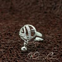 """Кольцо с брелочком """"Верный выбор"""" (18.2 размер в наличии)"""