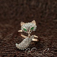 """Кольцо """"Хитрая лиса"""" (17.3 размер в наличии)"""