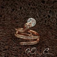 """Кольцо с змеей """"Змейка"""" (16.5 18.2 размеры в наличии)"""