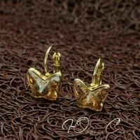 """Серьги """"Golden Butterfly"""""""