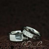 """Парные кольца """"Хранители Гармонии"""" [жен. 15.9 16.5 муж. 17.3 18.2 размеры в наличии]"""