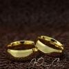 """Парные кольца """"Счастливы вместе"""" [жен. 15.9 16.5 муж. 17.3 18.2 20.7 размеры в наличии]"""