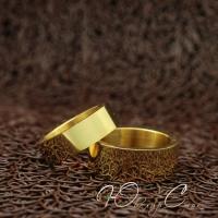 """Парные кольца """"Американка"""" [жен. 15.9 16.5 17.3 18.2 муж. 17.3 18.2 19.0 размеры в наличии]"""