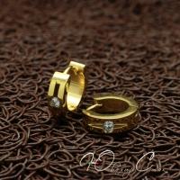 """Мужские серьги """"Amanite Gold"""""""