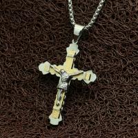 """Мужской крестик с распятием """"Jesus"""""""