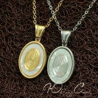 """Парные медальоны """"Дева Мария"""""""