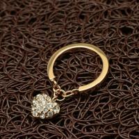 """Кольцо с брелочком """"My Heart"""" (17.0 размер в наличии)"""