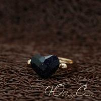 "Кольцо ""Black heart"" (16.0 размер в наличии)"