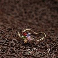 """Кольцо """"Цветочек Таити"""" (19.0 размер в наличии)"""