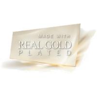 колье покрытые белым золотом