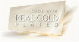 Наборы покрытие золотом комплекты ювелирной бижутерия Gold Filled 18K